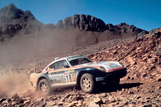 Porsche 959 Dakar 1986
