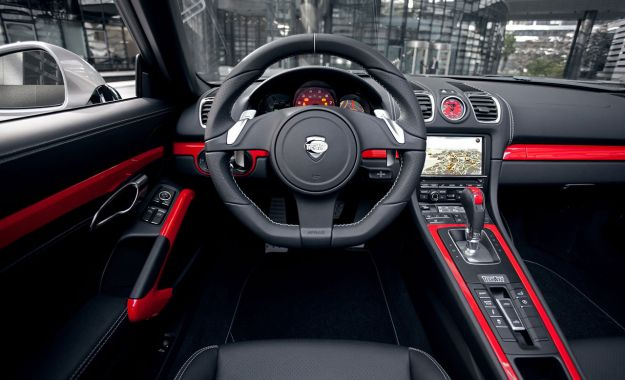 Porsche Boxster by Techart interni