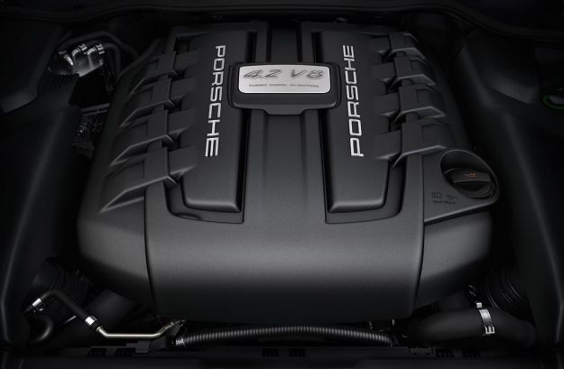 Porsche Cayenne S diesel V8, motore