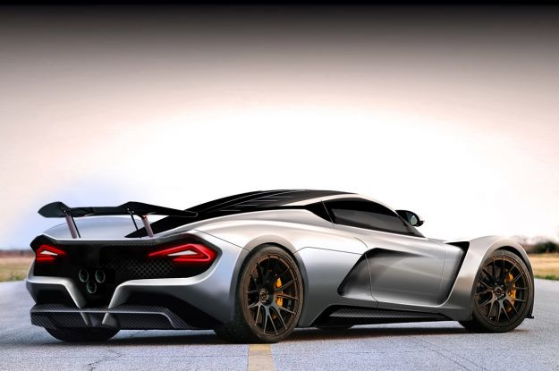 Posteriore della Hennessey Venom F5