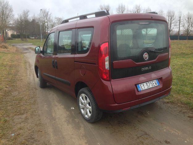 Prova su strada Nuovo Fiat Doblò 2015