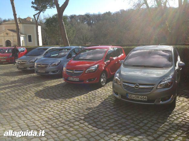 Prova su strada nuova Opel Meriva
