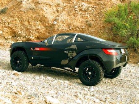 Rally Fighter nero fianco
