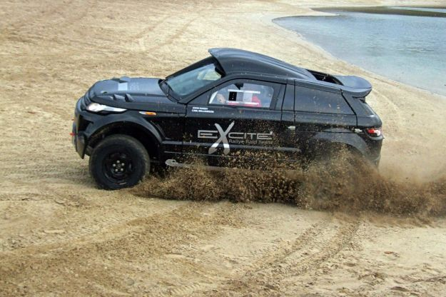 Range Rover Evoque Desert Warrior 3 fiancata