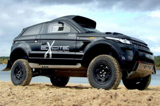 Range Rover Evoque Desert Warrior 3