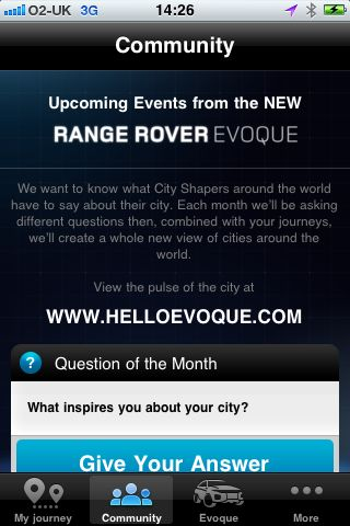 Range Rover Evoque Pulse of the City 2