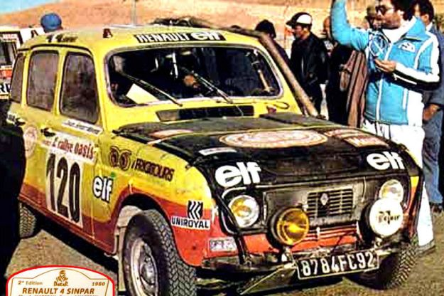 Renault 4 Dakar 1979