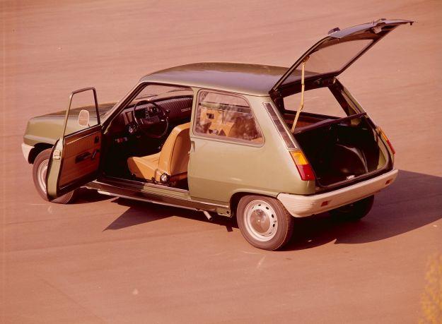 Renault 5 Porte aperte