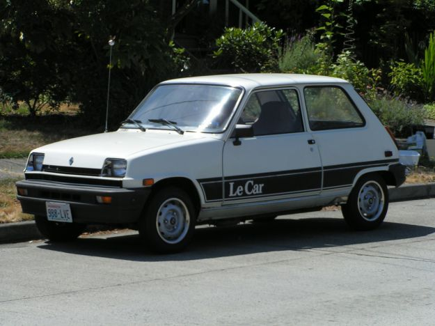 Renault 5 Versione americana