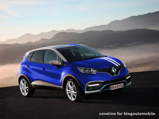 Renault Captur RS, render