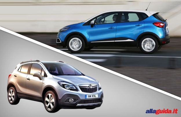 Renault Captur vs Opel Mokka