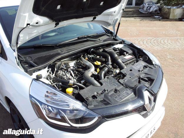 Renault Clio RS 2013, motore