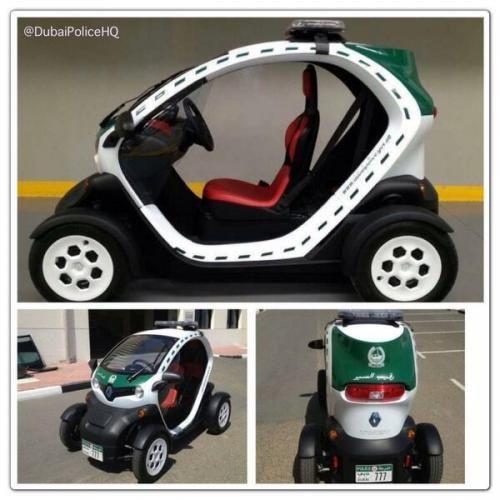 Renault Twizy della polizia di Dubai