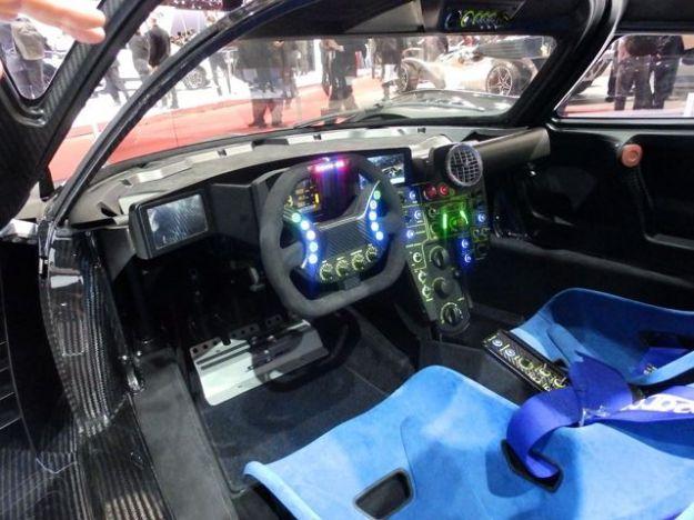 SCG003S posto di guida