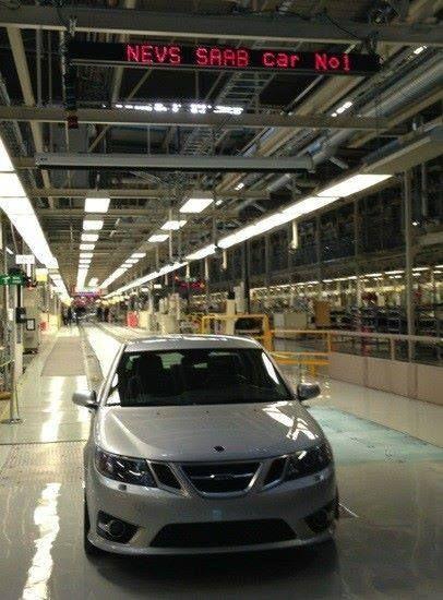 Saab industria Saab 9 3