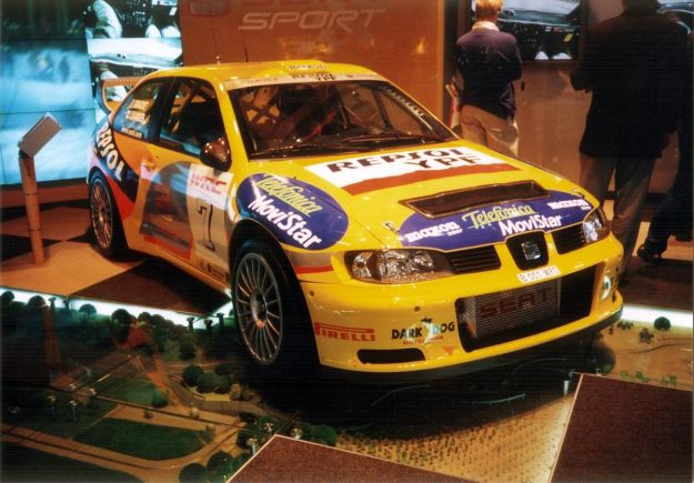 Seat Cordoba WRC Evo2