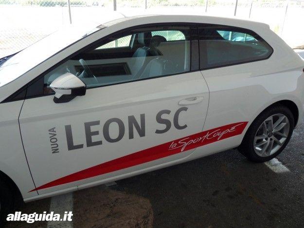 Seat Leon SC 2013, estetica e Design