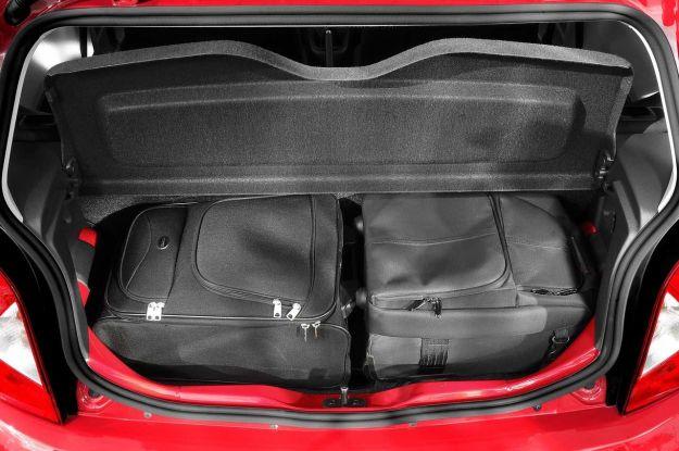Seat Mii 3 porte bagagliaio capacità massima