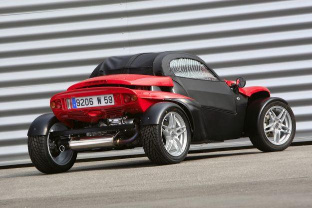 Secma F16 posteriore