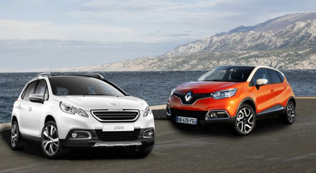 Sfida tra Renault Captur Peugeot 2008