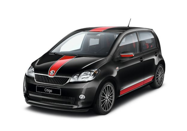 Skoda Citigo Sport anteriore