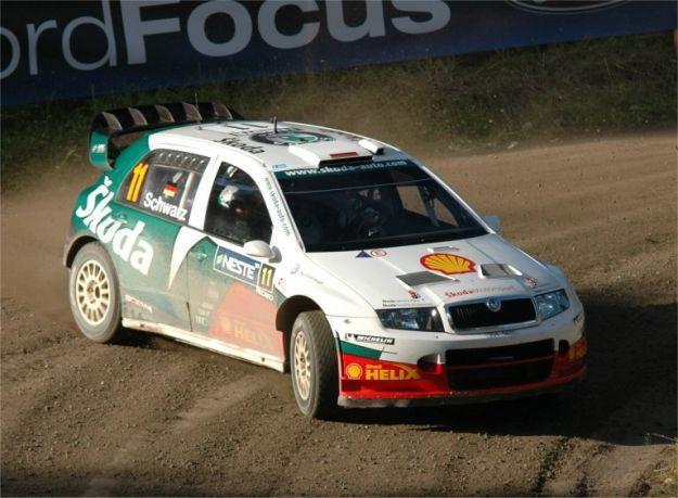 Skoda Fabia WRC Rally