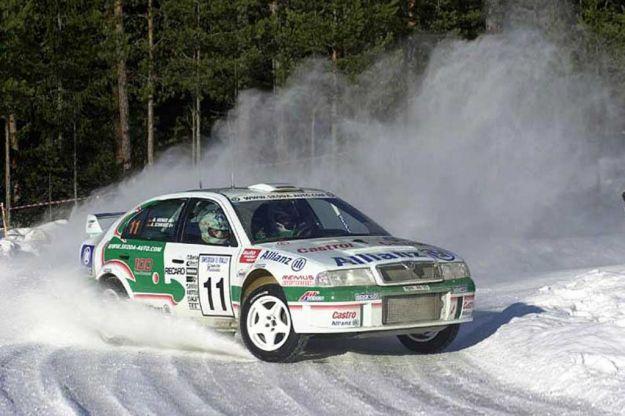 Skoda Octavia WRC Rally Championship