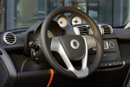 Smart fortwo Nightorange volante