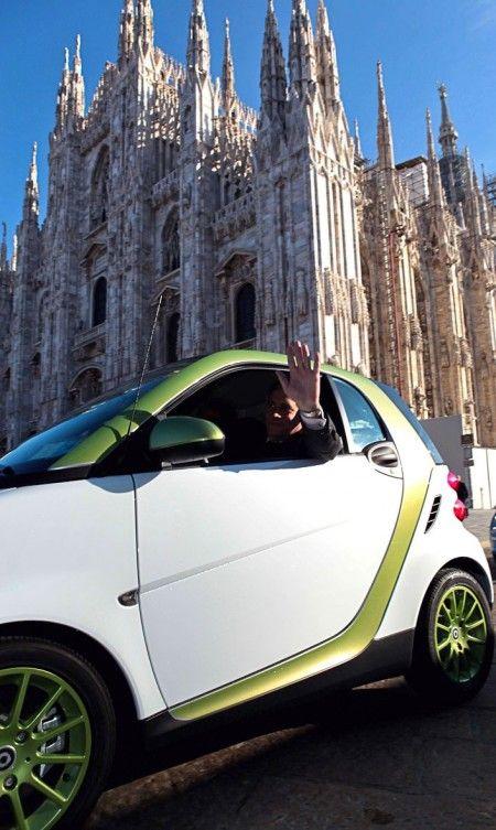 Smart fortwo electric drive a mobilitytech tajani