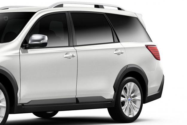 Subaru Crossover 7 Concept Laterale