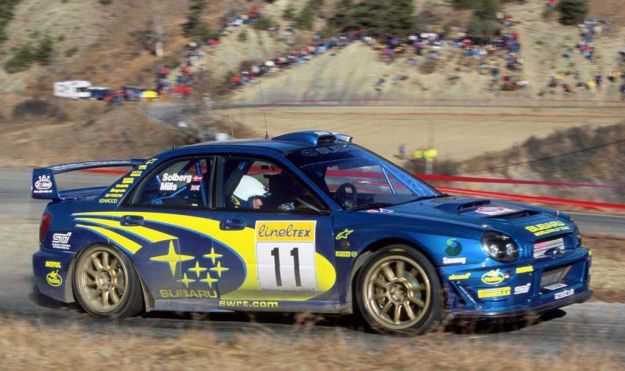 Subaru Impreza WRC Rally Championship