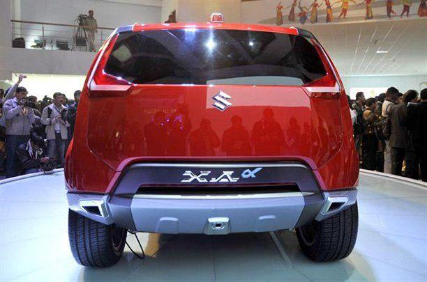 Suzuki XA Alpha Concept posteriore