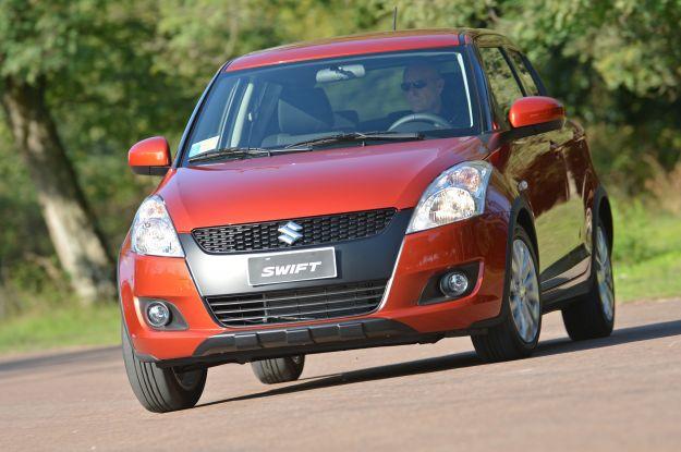 Suzuki Swift 4x4 Outdoor frontale