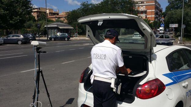 Targa System polizia