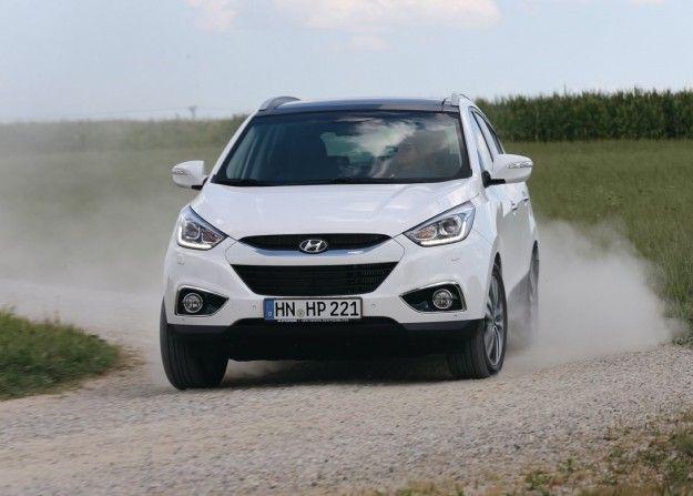 Test drive Hyundai ix35