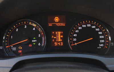 Toyota Avensis SW tachimetro