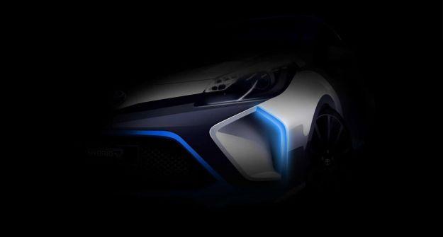 Toyota Hybrid R Concept particolare