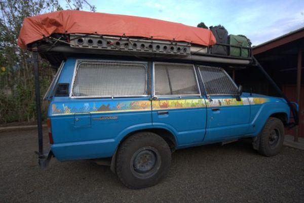 Toyota Land Cruiser degli Schmid