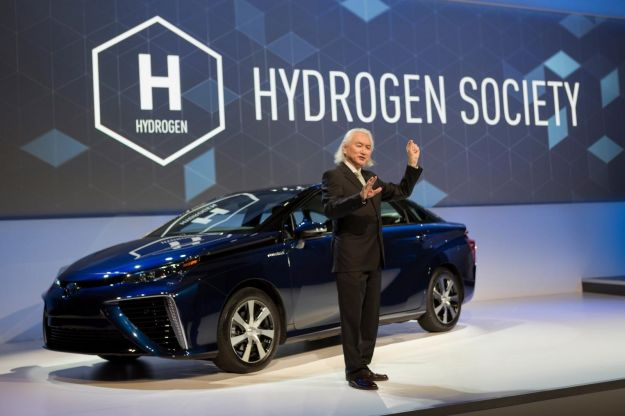 Toyota Mirai CES 2015