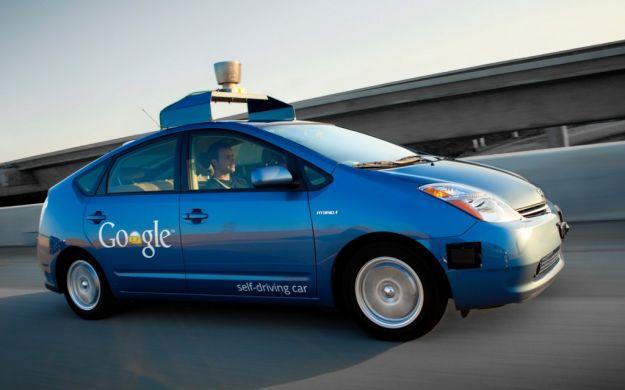 Toyota Prius google car