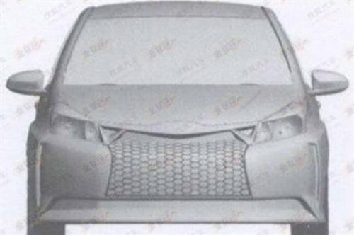 Toyota Yaris TS 2013 bozzetto