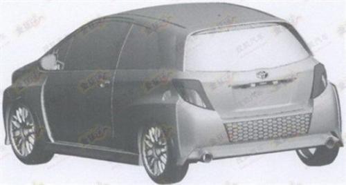 Toyota Yaris TS 2013 immagine del progetto
