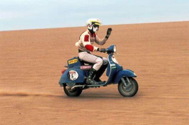 Vespa p200e Dakar 1980