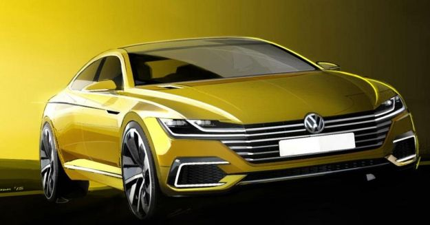 Volkswagen CC Concept sketch