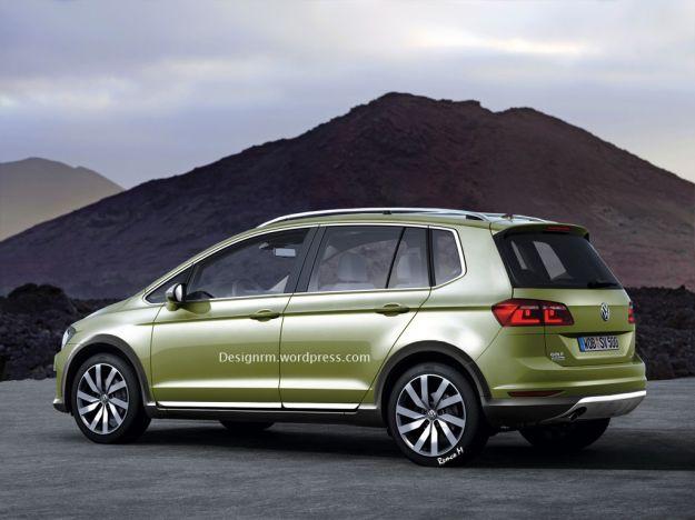Volkswagen CrossGolf 2015 rendering