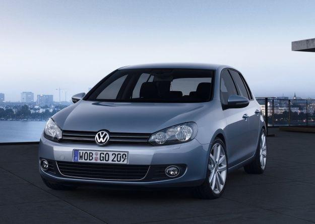 Volkswagen Golf 2009, frontale