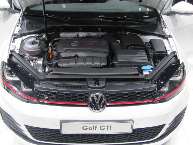 Volkswagen Golf 7 GTI 2013 Concept motore