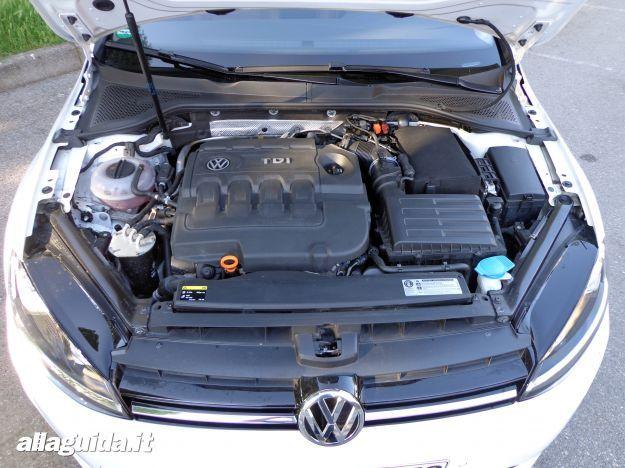 Volkswagen Golf 7 motori e motorizzazioni