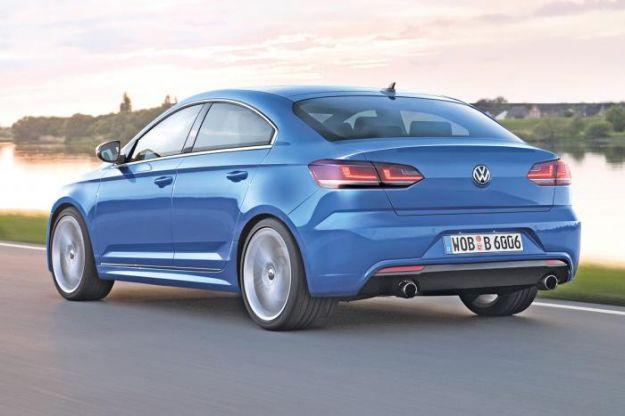 Volkswagen Golf CC, posteriore