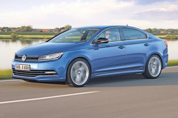 Volkswagen Golf CC, rendering